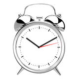 Alarm Clock on white background Royalty Free Stock Image