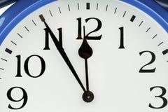 Alarm clock on white background Royalty Free Stock Images