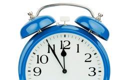 Alarm clock on white background Royalty Free Stock Image