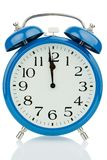 Alarm clock on white background Stock Photos