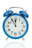 Alarm clock on white background Royalty Free Stock Photography