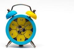 Alarm clock on white background. Royalty Free Stock Photography