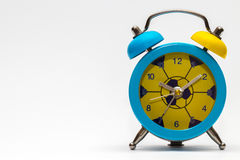 Alarm clock on white background. Stock Photography