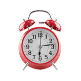 Alarm clock on white background. Stock Images