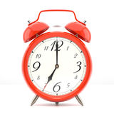 Alarm clock on white background Stock Photography