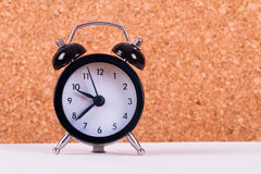 Alarm Clock on White Ground Royalty Free Stock Photo