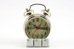 Now spelled clock Stock Image
