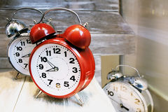 Alarm clocks Stock Images