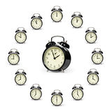 Alarm clocks Royalty Free Stock Photos