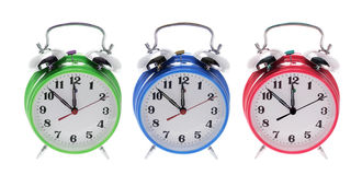Alarm Clocks Stock Image