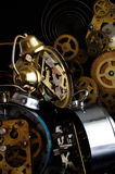 Alarm clocks details Royalty Free Stock Image
