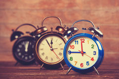 Alarm clocks Stock Photos