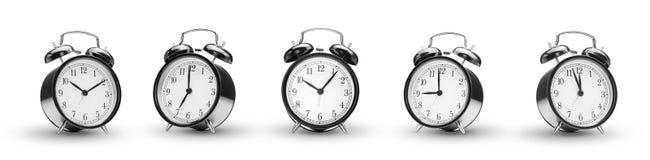 Alarm clocks Stock Images