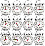 Alarm clocks Stock Photography
