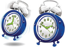 Alarm clocks royalty free stock photo