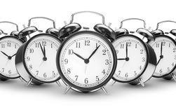 Alarm clocks Stock Photography