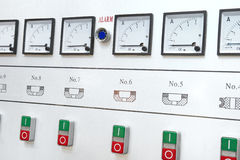 Alarm control center Stock Image