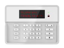 Alarm control panel Stock Photography