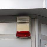 Alarm. External unit siren and light Stock Photos