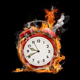 Alarm flame Royalty Free Stock Image