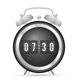 Alarm flip clock Royalty Free Stock Images