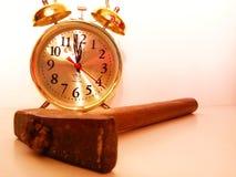 Alarm hour Stock Photo
