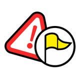 Alarm icon Stock Photography