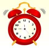 Alarm-klok stock illustratie