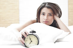 Alarm in the morning Stock Photos