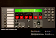 Alarm Panel Royalty Free Stock Photography