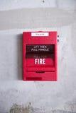 alarm rök för banan för clippingavkännarebrand bilden isolerad Royaltyfria Foton
