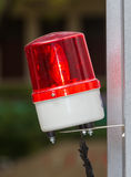 Alarm red siren Royalty Free Stock Photography