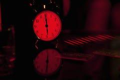 alarm remsan för kreditering för kortklockakokain Royaltyfria Foton
