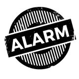 Alarm rubber stamp Royalty Free Stock Photo