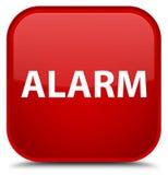 Alarm speciale rode vierkante knoop Royalty-vrije Stock Foto's