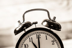 Alarm vintage clock Stock Photography