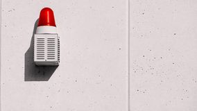 Alarm and warning device royalty free stock image