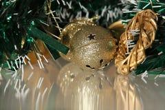 Alarma de cascabeleo en el oropel Foto de archivo libre de regalías