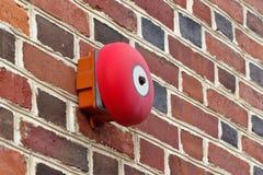Alarma de incendio Foto de archivo libre de regalías