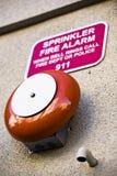 Alarma de incendio Imagen de archivo libre de regalías