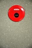 Alarma de incendio de la emergencia Foto de archivo libre de regalías