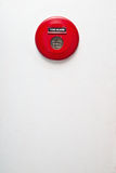 Alarma de incendio roja Fotos de archivo libres de regalías