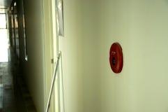Alarma de incendio roja Imagen de archivo