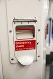 Alarma de la emergencia Foto de archivo