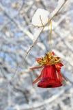 Alarma de la Navidad Foto de archivo libre de regalías