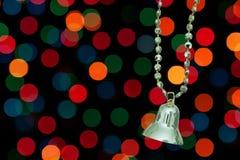 Alarma de la Navidad de oro. Foto de archivo libre de regalías