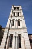 Alarma de la torre de la catedral de Ferrara fotografía de archivo libre de regalías
