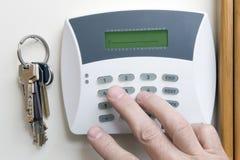 Alarma de ladrón Imagen de archivo libre de regalías