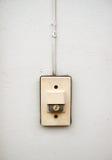 Alarma de puerta Imágenes de archivo libres de regalías