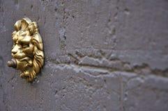 Alarma de puerta vieja en Florencia, Italia imagen de archivo libre de regalías